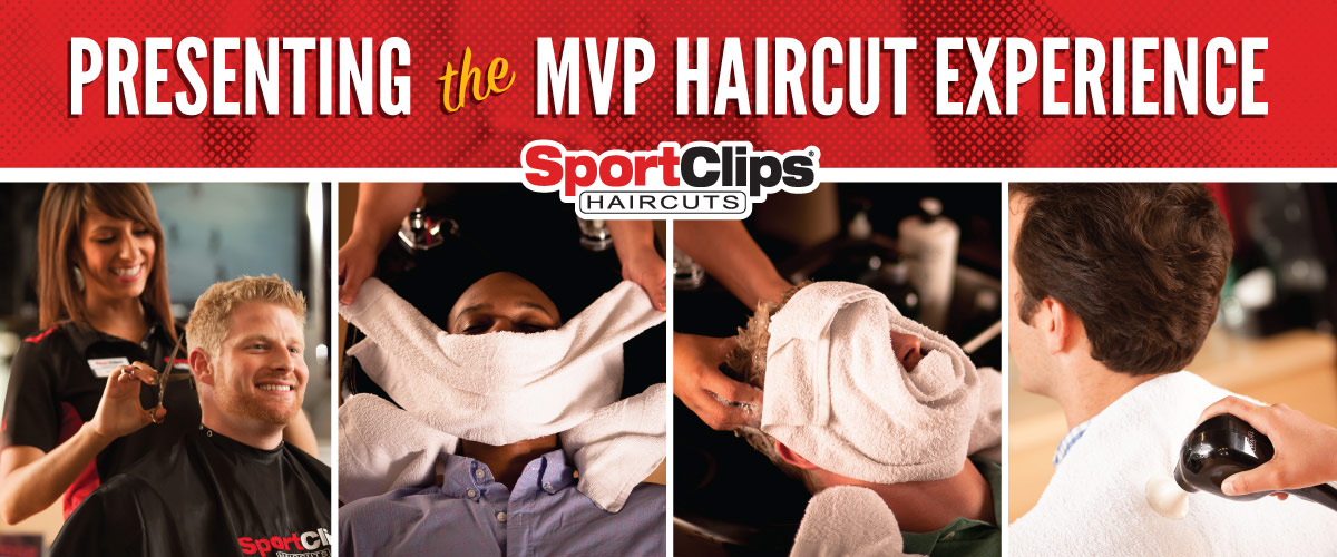 The Sport Clips Haircuts of Huntley MVP Haircut Experience