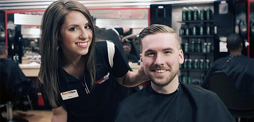 Sport Clips Haircuts of Huntley​ stylist hair cut